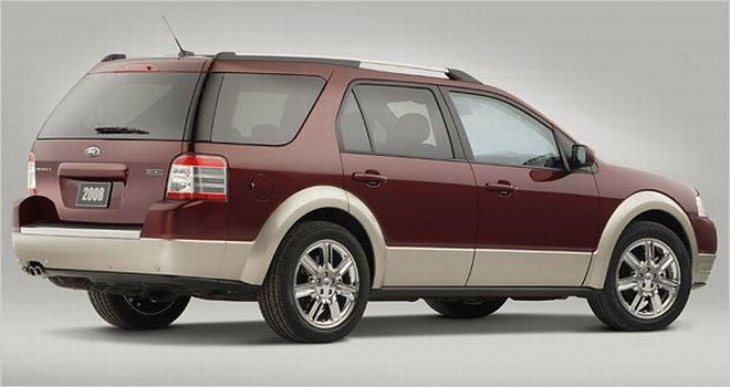 2008 Ford Taurus X Crossover Car Picture