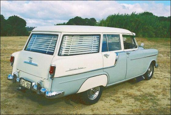Rear Right 1958 Holden Station Wagon Picture