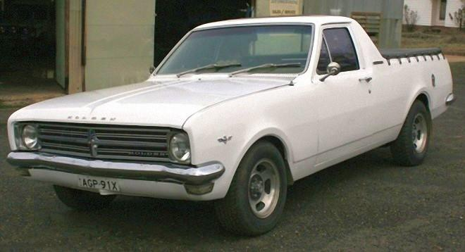 Front Left 1968 Holden HK Ute Truck Picture