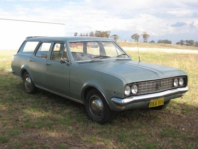 Front Right 1970 Holden HG Premier Wagon Picture