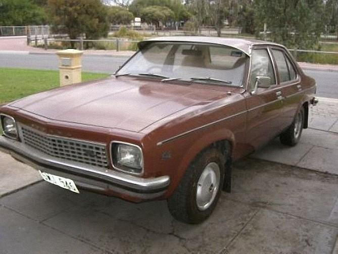 Front Left 1975 Holden LH Torana Car Picture