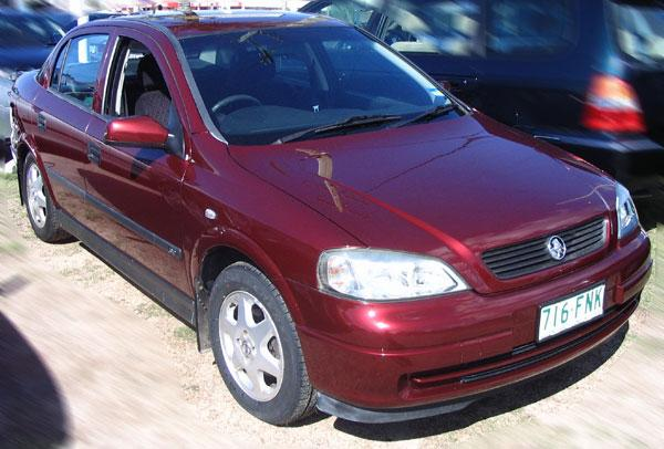 2000 Holden Astra Car Picture