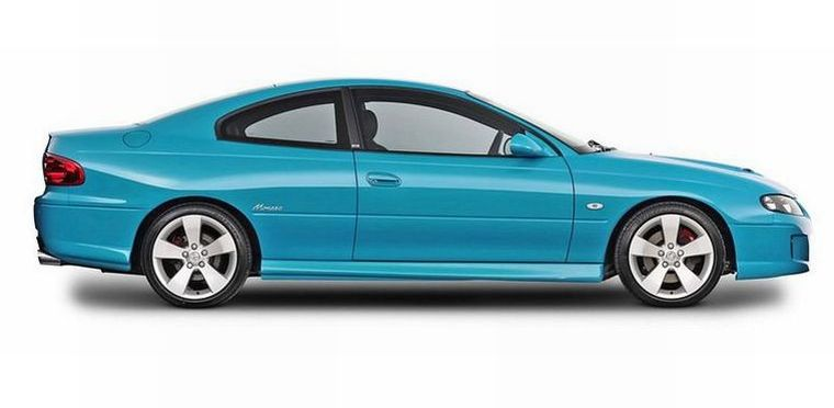 Right Side 2004 Holden Monaro VZ Car Picture