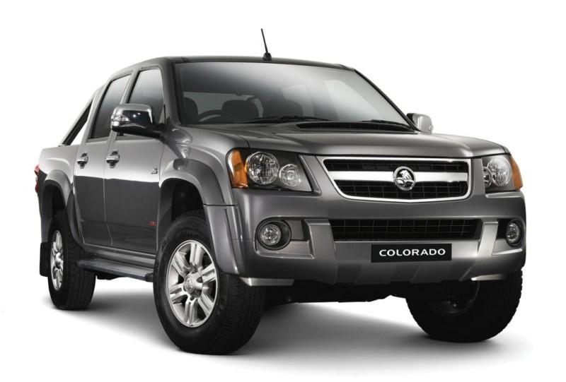 Front Right 2008 Holden Colorado Truck Picture