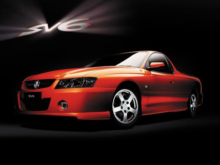 2007 Holden SV6 Car Picture