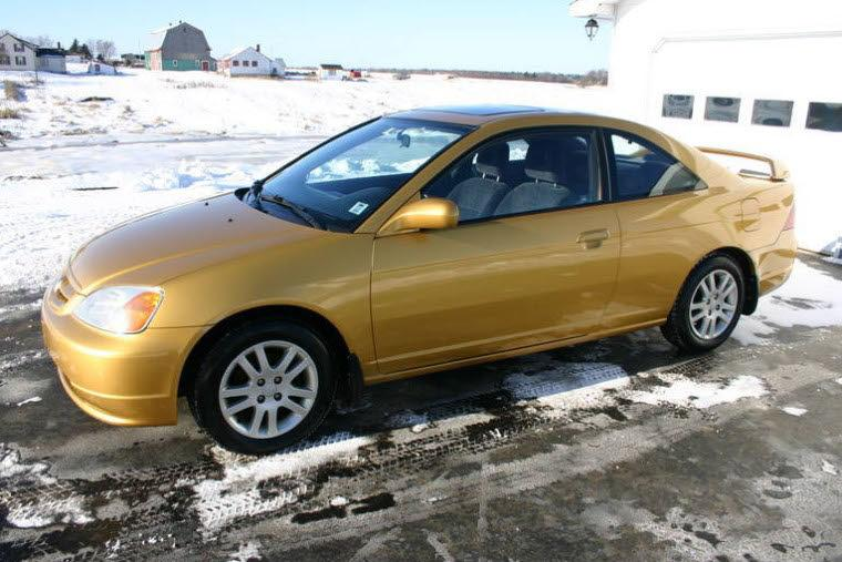 Front Left 2001 Honda Civic SI Car Picture
