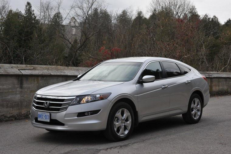 Front Left Silver 2011 Honda Crosstour Car Picture