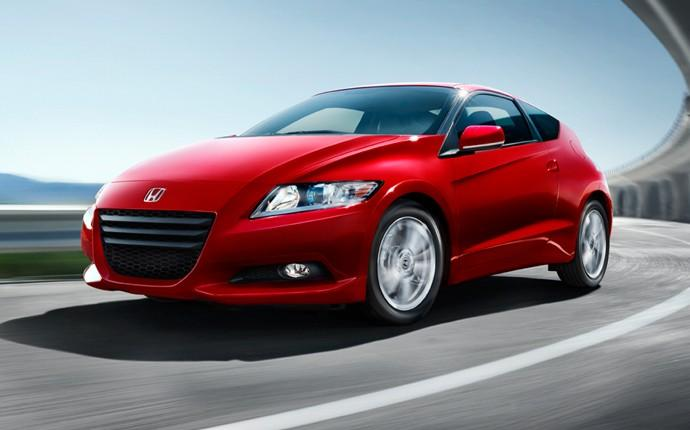 Front Left Red 2011 Honda CR-Z Car Picture