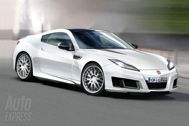 Front Right White 2009 Honda NSX Concept Car Picture