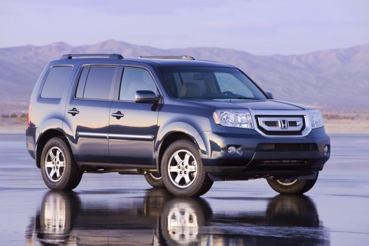 Front Right 2009 Honda Pilot SUV Picture