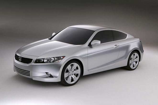 Front left Honda Accord Coupe Concept Car Picture