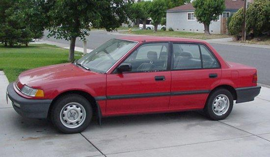 1990 Honda Civic Car Picture