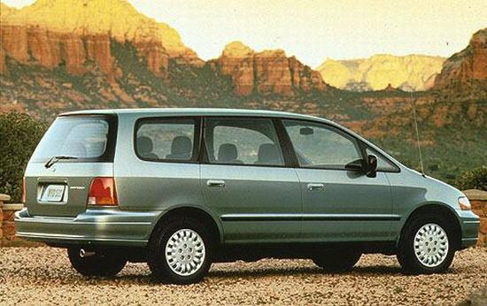 Rear Right Green 1996 Honda Odyssey Car Picture