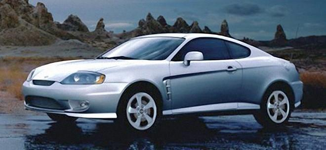 Front Left 2006 Hyundai Tiburon Car Picture