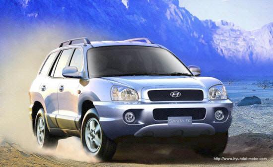 2004 Hyundai Santa Fe Car Picture