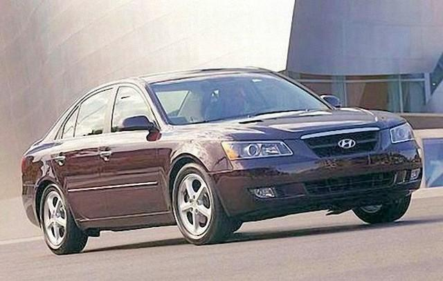 Front Right 2000 Hyundai Sonata Car Picture