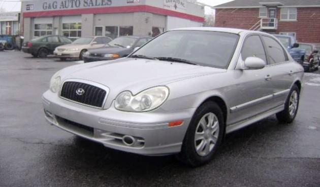 2002 Hyundai Sonata Car Picture
