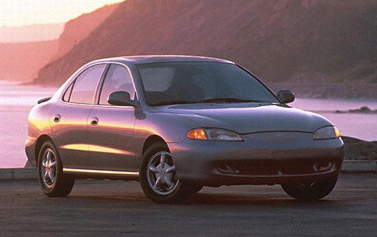1996 Hyundai Elantra Car Picture