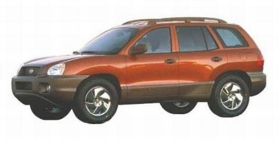 2001 Hyundai Santa Fe Car Picture