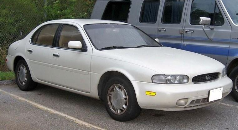 Front Right White 1992 Infiniti J30 Car Picture