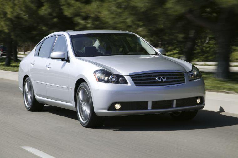 Front Right Gray 2006 Infiniti M Car Picture