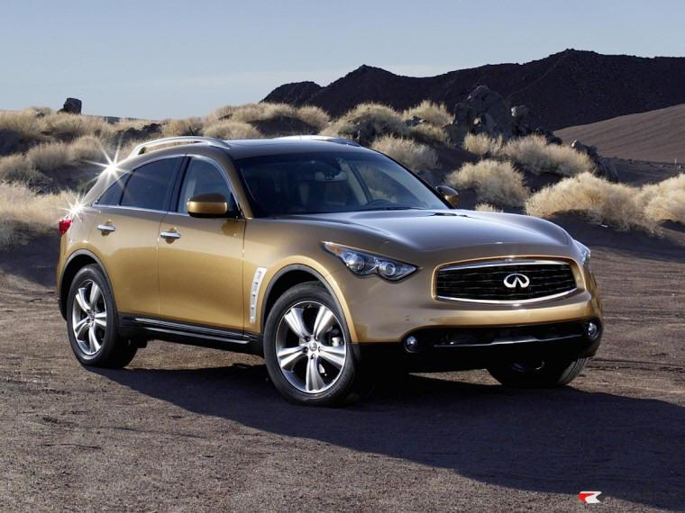 Right Front 2009 Infiniti FX35 CUV Picture