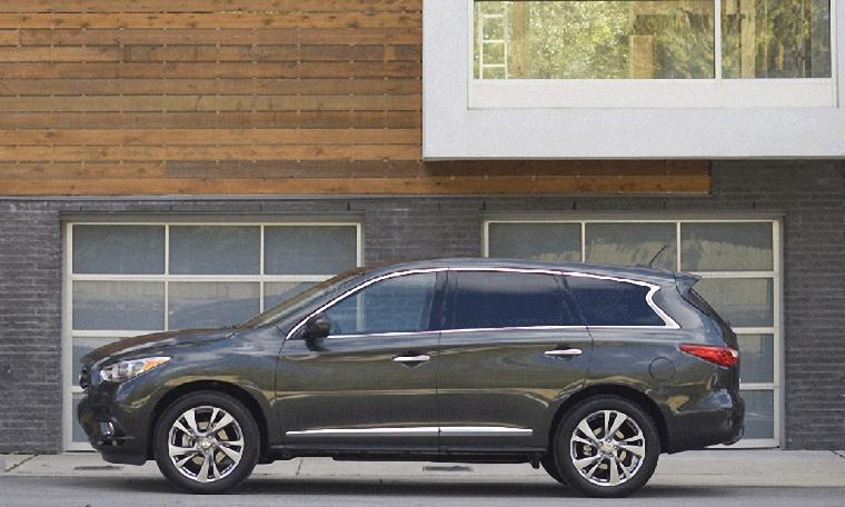 Left Side 2012 Infiniti JX CUV Picture