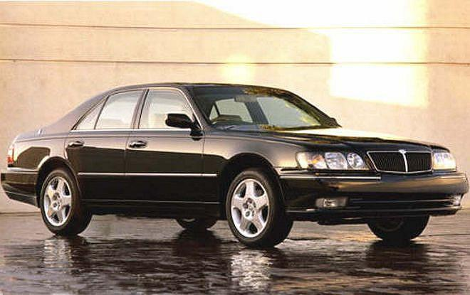 Front Right 1998 Infiniti Q45 Car Picture