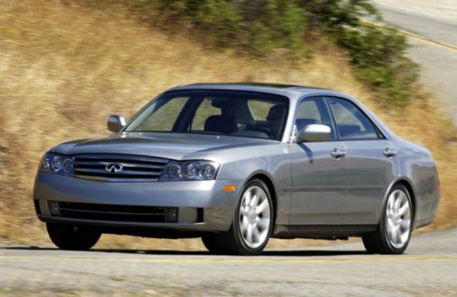 Front left Gray 2003 Infiniti M45 Car Picture