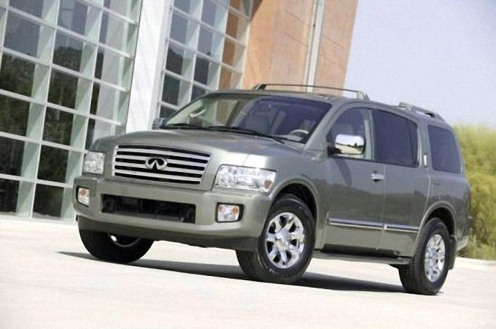 Front Left 2006 Infiniti QX56 SUV Picture