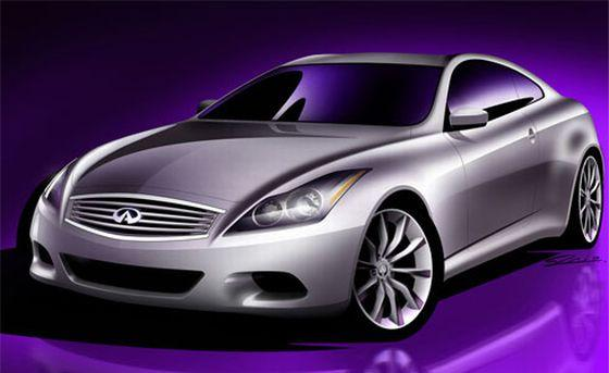 2008 Infiniti G Coupe Concept Car