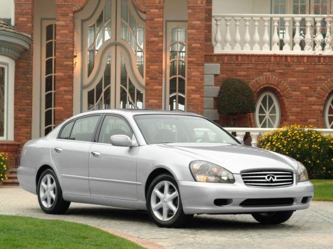 Front Right Silver 2006 Infiniti Q45 Car Picture