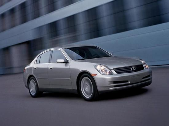 Front Right Gray 2000 Infiniti G35 Car Picture