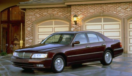 Front left Maroon 2000 Infiniti Q45 Car Picture