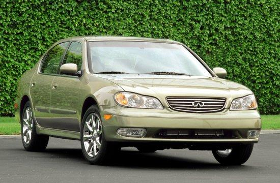 Front Right Gray 2003 Infiniti I35 Car Picture