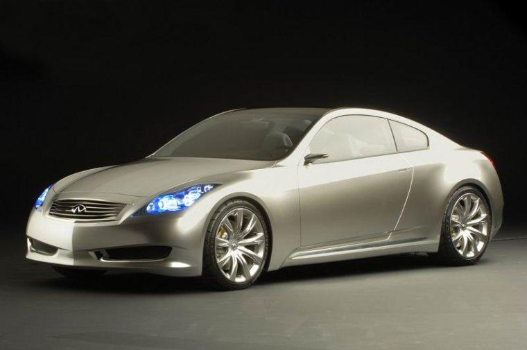 Front left Gray 2007 Infiniti G35 Coupe Concept Car Picture