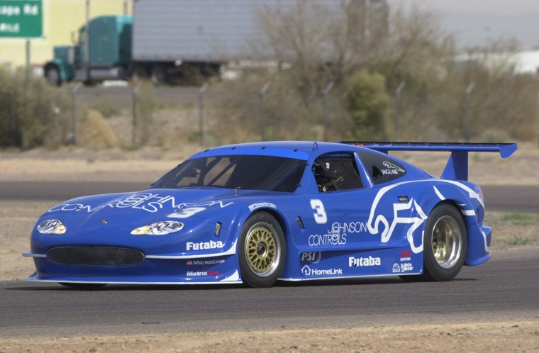2002 Jaguar XKR Trans Am Series Challenger Car Picture