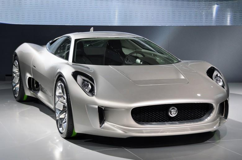 Front Right Jaguar C-X75 Car Picture