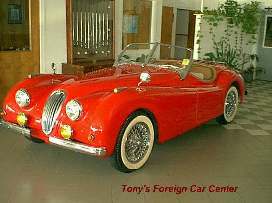 1952 Jaguar XK Replica Car Picture