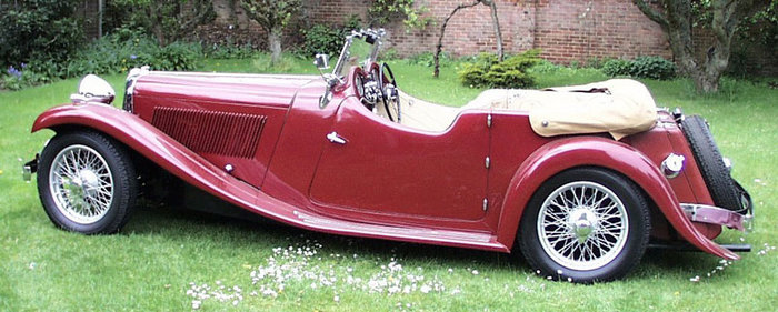 1933 Jaguar SS1 Tourer Car Picture