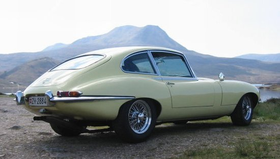 Rear Right 1967 Jaguar E Car Picture