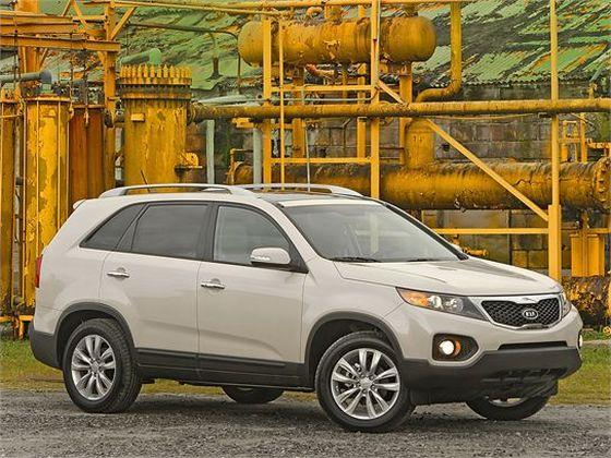 Front Right 2011 Kia Sorento SUV Picture