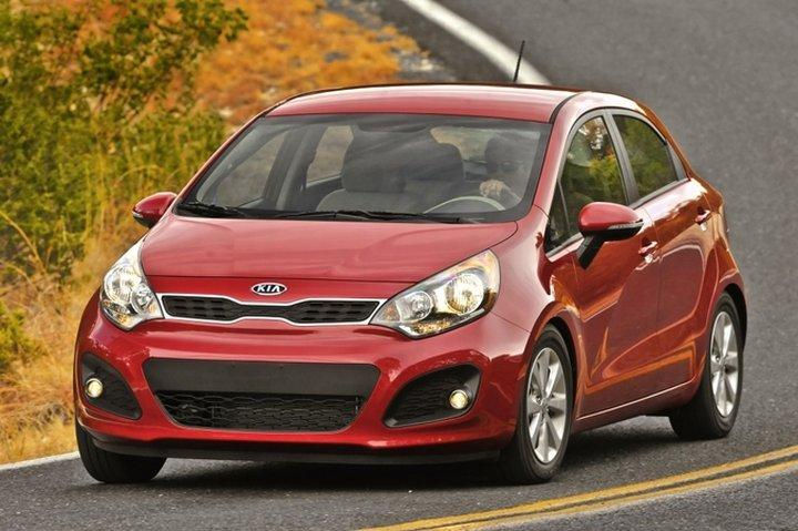 Front Left 2012 Kia Rio EX Car Picture
