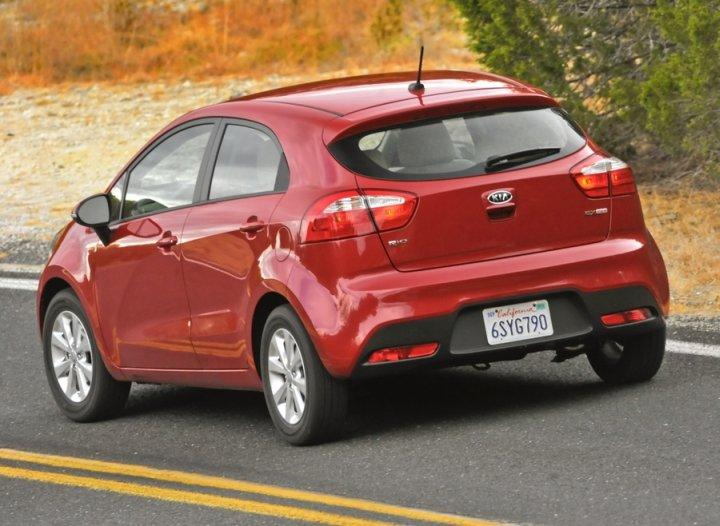 Rear Left 2012 Kia Rio EX Car Picture