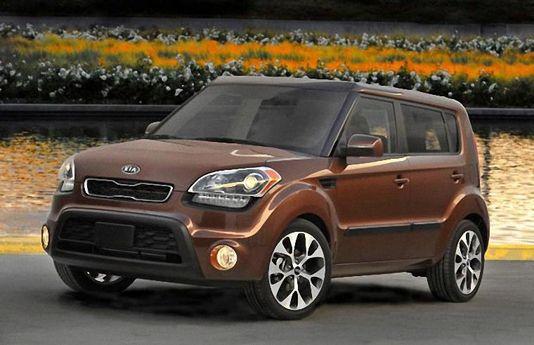 Front Left 2012 Kia Soul CUV Picture
