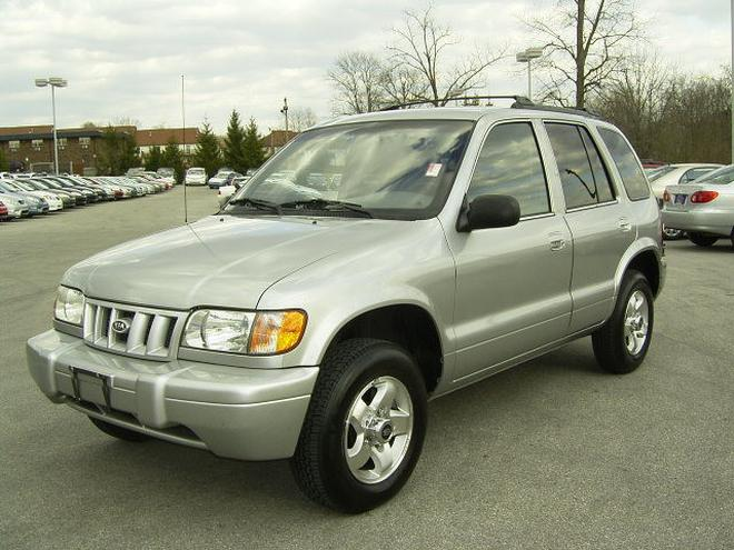 2002 Kia Sportage Car Picture