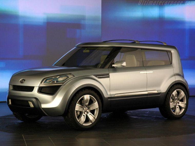 Kia Soul Concept Car Picture
