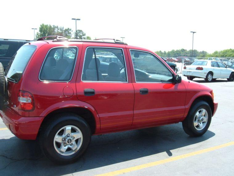 2000 Kia Sportage Car Picture