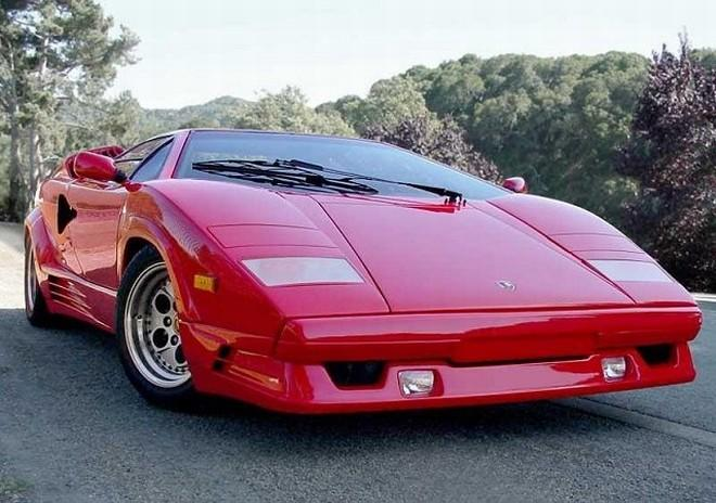 1989 Lamborghini Countach 25th Anniversary Car Picture