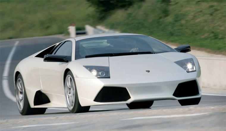Front Right Gray 2006 Lamborghini Murcielago Car Picture